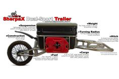 Home of the lightweight dual-sport trailers and functional motorcycle accessories Enduro Motorcycle, Motorcycle Trailer, Motorcycle Camping, Cargo Trailers, Camper Trailers, Custom Trailers, Gs 1200 Bmw, 1200 Gs Adventure, Teardrop Caravan