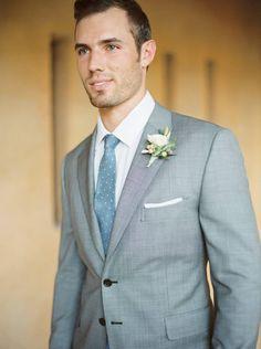 Arizona wedding inspiration in calming blues and neutrals via Magnolia Rouge