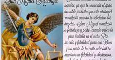 A SAN MIGUEL ARCÁNGEL CONTRA TODO ENEMIGO Y MALDAD La Batalla contra los demonios está encabezada por la Santísima Virgen María, pero sus huestes celestiales son los   ángeles comandados por el Arcángel San Miguel, por eso viene bien esta novena ante el acoso agudo del mal, invoc... - See more at:http://mariamcontigo.blogspot.com/2016/06/oracion-para-hoy-230616.html