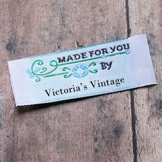 Personalized Sewing Labels Custom Labels by namemakerlabelco
