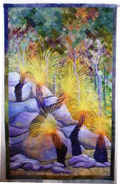 """Grass Trees"" by Gloria Loughman"