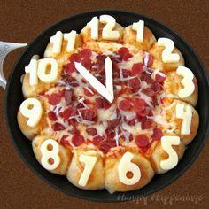 Skillet Pizza Dip Countdown Clock