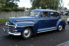 1947 Plymouth Sedan Special De Luxe - Brought to you by Smart-e Classic Trucks, Classic Cars, Chevy Classic, Best American Cars, Plymouth Cars, Old Pickup Trucks, Chevy Trucks, Auto Retro, Vintage Trucks