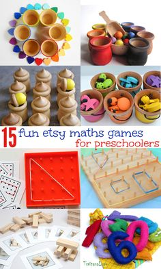 15 cool handmade math games and resources for preschoolers