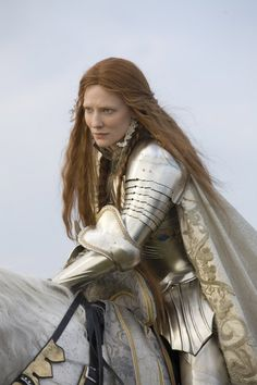 Kate Blanchett as Queen Elizabeth