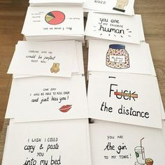 Long distance relationship -boyfriend gift -i miss you - ldr - funny card- girlfriend - funny chart - girlfriend -i love you - husband - Geschenke - Postcards for all situations in life by ANIllustrations on Etsy - Handmade Gifts For Boyfriend, Cute Boyfriend Gifts, Diy Gifts For Girlfriend, Diy Gifts For Mom, Diy Gifts For Friends, Birthday Gifts For Boyfriend, Boyfriend Ideas, Craft Boyfriend Gifts, Cute Things To Do For Your Boyfriend