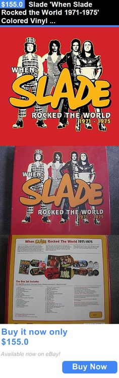 Music Albums: Slade When Slade Rocked The World 1971-1975 Colored Vinyl Lp + Cd Box Set New BUY IT NOW ONLY: $155.0