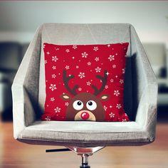 Christmas Pillows Holiday Pillows Christmas by wfrancisdesign Christmas Cushions, Christmas Pillow, Reindeer Decorations, Christmas Decorations, Christmas Gifts For Mom, Christmas Crafts, Christmas Ideas, Birthday Diy, Birthday Gifts