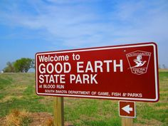 The Good Earth State Park at Blood Run is located just outside of Sioux Falls, South Dakota.