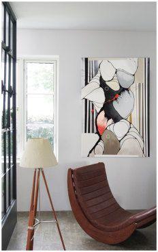 IDENTITET TIL DE STORE RUM! Store vægge giver en fantastisk mulighed for at vælge et stort maleri, som vil give rummet en hel særlig identitet og stemning. Se mere på http://www.cjulsgaard.dk/inspiration-moderne-kunst1