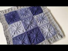 Crochet Sunny Spread Throw | INTERMEDIATE | The Crochet Crowd - YouTube Crochet Crowd, Crochet Baby, Crochet Afghans, Hand Crochet, Left Handed Crochet, Ombre Yarn, Super Saver, Afghan Blanket, Free Pattern