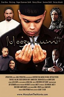 Mooz-Lum (2010), a groundbreaking depiction of Muslims in America, focusing on the identity crisis experienced by a young African American Muslim when he first enters college, made worse by the 9/11 attacks. Director Qasim Basir is a leader in a burgeoning movement of young Muslim-Americans finding their voice in the film and media industry.
