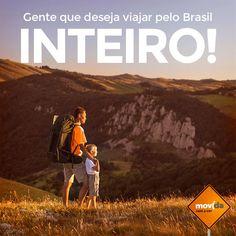 Viajar é tudo de bom!  Independente do seu destino, a #MovidaRentACar está presente em todos os estados brasileiros. Conte com a gente! ;)