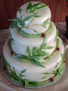 I've treasured my bamboo plant for years. Would be neat to see it in cake form.