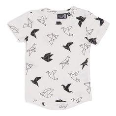 CarlijnQ T-shirt Origami Birds