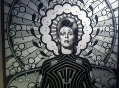 The Many Faces of David Bowie http://artofevents.wordpress.com/2013/06/25/the-many-faces-of-david-bowie-opera-gallery-london/