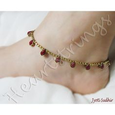 Beautiful anklet - $6