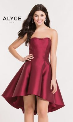 6957fc91c7 Alyce Paris Homecoming 3697 Chic Boutique  Largest Selection of Prom