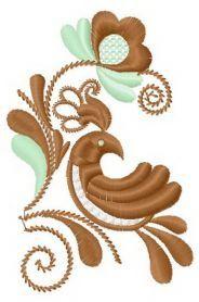 Flower pattern 11 machine embroidery design. Machine embroidery design…