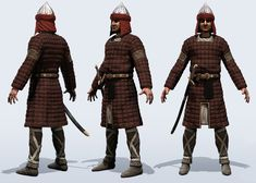 Middle-eastern armor by mojette for the game Assassin's Creed