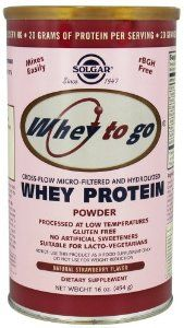 """Solgar Whey To Go® Protein Powder Natural Vanilla Flavor. Less than one gram of lactose per serv, no other FODMAP ingredients. Avoid the chocolate, which contains the ingredient """"fruit sugar""""--aka fructose. Natural Protein Powder, Whey Protein Powder, Fructose Intolerance, Fodmap Diet, Fodmap Foods, Low Fodmap, Chocolate Powder, Biology"""