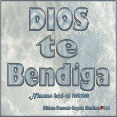 DIOS te bendiga! «24 Jehová te bendiga, y te guarde; 25 Jehová haga resplandecer su rostro sobre ti, y tenga de ti misericordia; 26 Jehová alce sobre ti su rostro, y ponga en ti paz.» Números 6:24-26 RVR1960 Miriam Damaris Noyola Martinez♡164