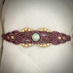 Butterfly Macrame Bracelet Tribal Ethno por MacramaniaShop en Etsy