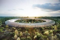 New Apple Campus designed by Norman Foster