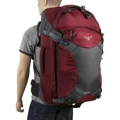 The Osprey Meridian wheeled backpack will never again leave you wondering whether to pack a wheeled bag or a backpack for your next trip. Backpack With Wheels, Rolling Backpack, Meet, Backpacks, Bags, Travel, Handbags, Viajes