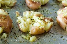 smashed potatoes-Pioneer Woman
