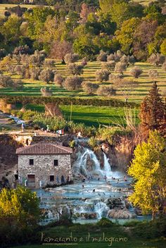 Saturnia termal baths -Tuscany, IT