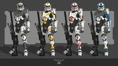 Star Wars Characters Pictures, Star Wars Pictures, Republic Commando, Halo Series, Star Wars Concept Art, Artwork Images, Star Wars Clone Wars, Star Wars Humor, The Thing Is