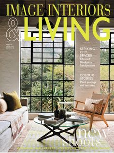 Living Magazine, Outdoor Furniture Sets, Outdoor Decor, Color Stories, Interiors, Image, Home Decor, Decoration Home, Room Decor