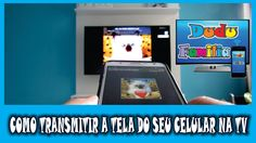 "APLICATIVO para transmitir a tela do celular na tv ""TCL N SCRENN PRO"""