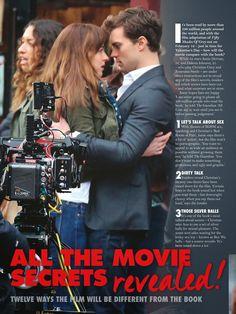 Fifty Shades Updates: HQ PHOTOS: Scans of Jamie Dornan and Dakota Johnson in New Idea Magazine