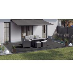Terrassenplatte Feinsteinzeug Streetline Graphit 60 x 60 cm 2 Stück kaufen bei OBI