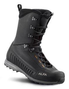 Alfa Sko: BUKK A/P/S M - Ultralett og smidig, høy tur- og jaktstøvel konstruert for jakt og turer i variert terreng.