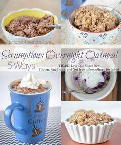 Scrumptious Overnight Oatmeal