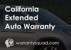 price comparison california auto extended warranty