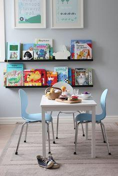 21 coole Ideen für die Organisation von Kinderbüchereien  - #Kinderzimmer