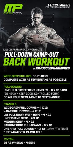 Pull Downs using 6-8 different handles.. maybe pike pushups instead of pull ups..