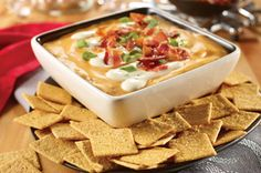 Chef Guy Fieri's Cheesy Bacon & Beer Dip Recipe