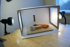 DIY macro photography light box. Photograph your stuff to make it look good!