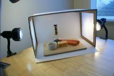 DIY macro photography light box. Photograph your stuff to make it look good!