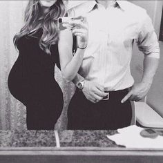 Being the cutest pregnant couple ever.