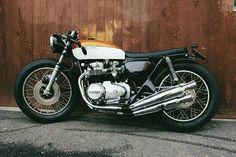 custom honda cb500 bratstyle caferacer