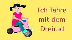 """""""Ich fahre mit dem Dreirad"""" - Krippen-Lied - Stop-Tanz möglich - aus """"Krippen-Liederbuch 1"""" - SHOP: www.kitakiste.jimdo.com"""