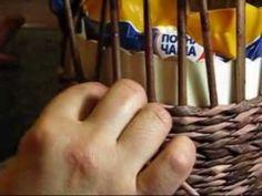 Плетение веревочкой из газетных трубочек. Подробный мастер класс   oblacco