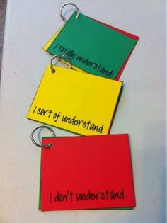 Here's a nice idea for a quick formative assessment of student understanding.