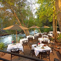 L'Auberge Restaurant on Oak Creek - Sedona, AZ
